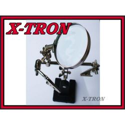 [X-TRON]Uchwyt Montażowy Z  Lupą  TRZECIA RĘKA