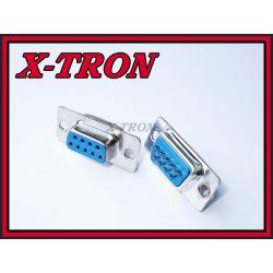 [X-TRON]Gniazdo RS232 D-SUB 9pin komplet 2 szt.