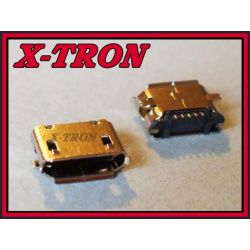 [X-TRON]Gniazdo micro / mikro USB typ B SMD