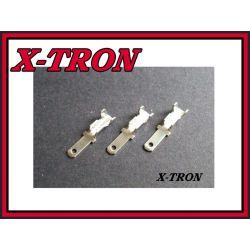 [X-TRON]Konektor samochodowy męski 2.8mm 10szt.