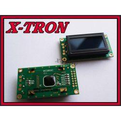 [X-TRON]Wyświetlacz LCD 2x8 Niebieski  HD44780