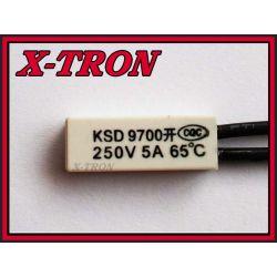 [X-TRON]Termostat Bimetaliczny NO 5A 65C KSD9700