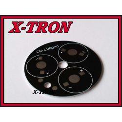 [X-TRON]Radiator Płytka Alum Diody LED 49mm Czarna
