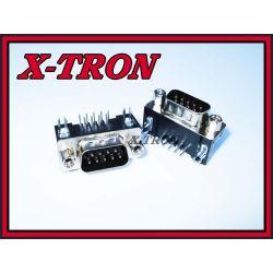 [X-TRON]Wtyk D-SUB 9 7,2  Kątowy Lut.Do Druku