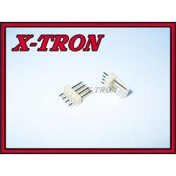 [X-TRON]Wtyk Prosty Do Druku 4 PIN r.2.54mm 10szt