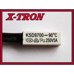 [X-TRON]Termostat Bimetaliczny NO 5A 90C KSD9700