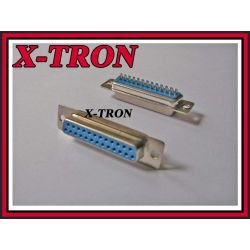 [X-TRON]Gniazdo D-SUB 25 lutowane na kabel