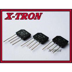 [X-TRON]MOSTEK 2A 1000V Płaski  KBP10