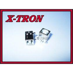 [X-TRON]USB Typ B Gniazdo Do Druku Białe