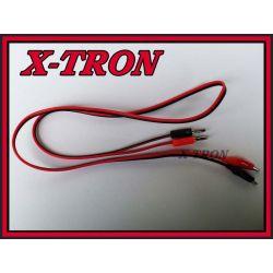 [X-TRON]Przewody Pomiarowe Z Krokodylkami 95CM