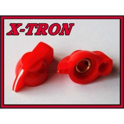 [X-TRON]Gałka chicken skośna czerwona 31mm