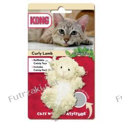 Kong Catnip Curly Lamb