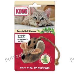 Kong Catnip Tennis Ball Mouse