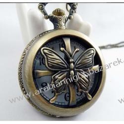 Zegarek w stylu naszyjnika - retro / MOTYLI ZEW / Zegarki