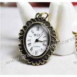 Zegarek w stylu naszyjnika - retro / Walewska / 2 Zegarki