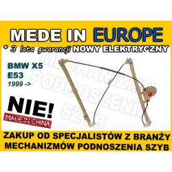 NOWY PODNOŚNIK SZYBY BMW X5 E53 LEWY PRZÓD