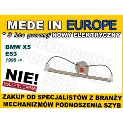 NOWY PODNOŚNIK SZYBY BMW X5 E53 PRAWY TYŁ