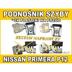 PODNOŚNIK SZYBY ŚLIZGI PLASTIKI NISSAN PRIMERA P12