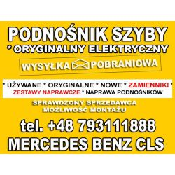 PODNOŚNIK SZYBY MERCEDES CLS W219 PRAWY PRZÓD