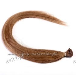 Pasemka włosy 100% Naturalne 45cm 50sztuk + Ringi