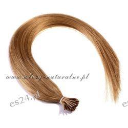 Pasemka włosy 100% Naturalne 45cm 100sztuk + Ringi