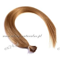 Pasemka włosy 100% Naturalne 53cm 100sztuk + Ringi