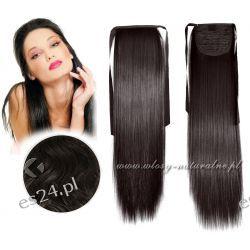 Doczepiane włosy Naturalne Kucyk Kitka 56cm