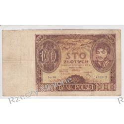100 złotych 02.06.1932 - Mi 73a - Ser. AW.
