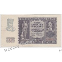 20 złotych 01.03.1940 - Mi 95a - Seria L