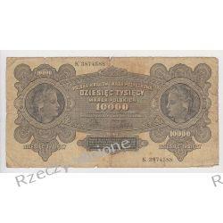10000 marek polskich 11.03.1922 - Mi 32 Ser. K