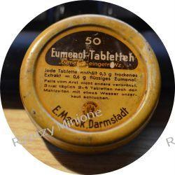 Eumenol-Tabletten - puszka Dzięgiel chiński tabletki lata 30te