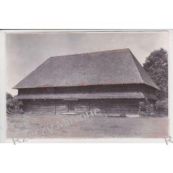 Bobrek - spichlerz - drewniany zabytek  - zdjęcieprzedwojenne