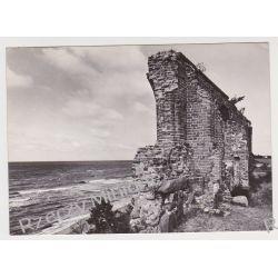 Trzęsacz/ Ruiny gotyckiego kościoła/ morze/ RUCH