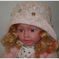 Pupill Frezja G2532 kapelusz, czapka lato 44-46 cm