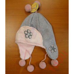 Akma G5608 ciepła czapka dziewczęca, wiązana 42