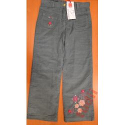 Cool Club M9417 spodnie dziewczęce sztruksowe 128