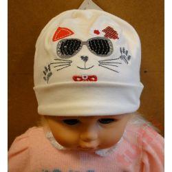 Pupill Miau G4719 czapka dziecięca 48-50 cm