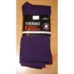 Thermo leggins G3229 legginsy damskie M fiolet