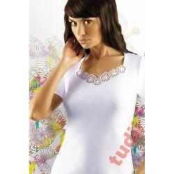 EMILI M2658 koszulka bawełniana Dorota XXL czarna
