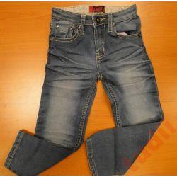 DETAIL G4859 spodnie  dziewczęce jeans 110 cm