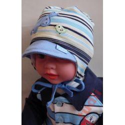 Akma Osiołek  G1994 czapka chłopięca 40 cm