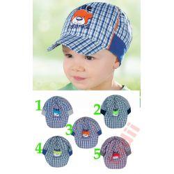 AJS G8154 czapka chłopieca  48 cm