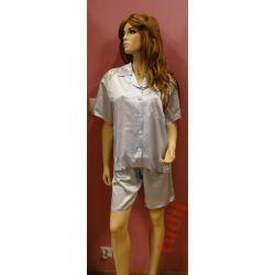 bd8a52eb7469 Femme Fatale N837 piżama satynowa damska S