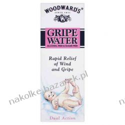 Woodwards Gripe Water 150 ml. Aspiratory i gruszki do nosa