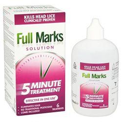 Full Marks roztwór przeciw wszawicy 100 ml. Zdrowie, medycyna