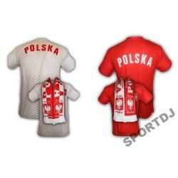 POLSKA KOSZULKA EURO ROZMIAR   M   + SZALIK