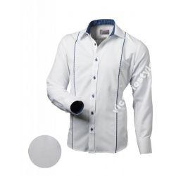 Koszula Męska VICTORIO Biała Oxford L 41/42