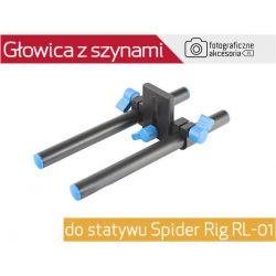 Głowica z szynami do statywu Spider Rig RL-01 Wwa