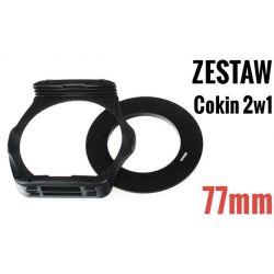 Zestaw COKIN P 2w1 holder adapter 77mm