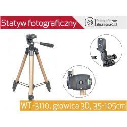 LEKKI STATYW FOTOGRAFICZNY 35-105cm WF-3110 Wwa